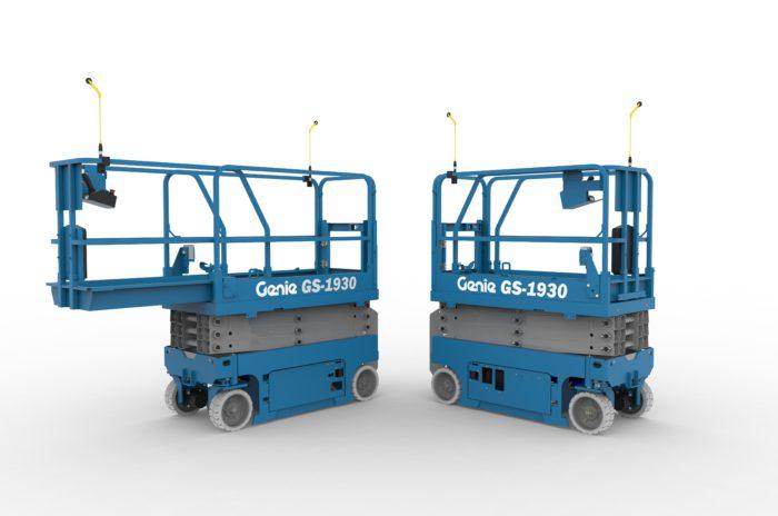 Genie increases safety around scissor lifts | Industrial Vehicle