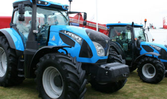 Landini's six-cylinder tractor makes UK debut