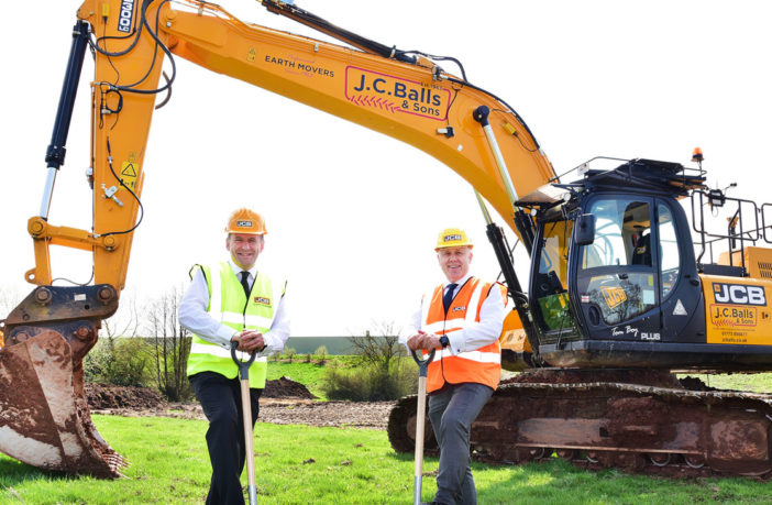 JCB invests millions in UK plant