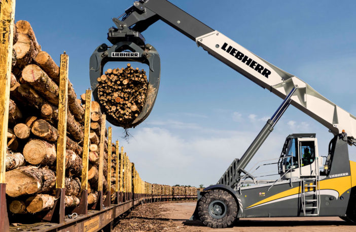 Liebherr extends reach stacker family