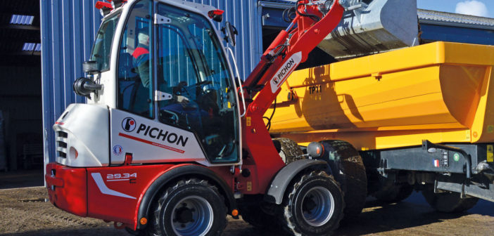 Mecalac acquires Pichon compact wheel loaders