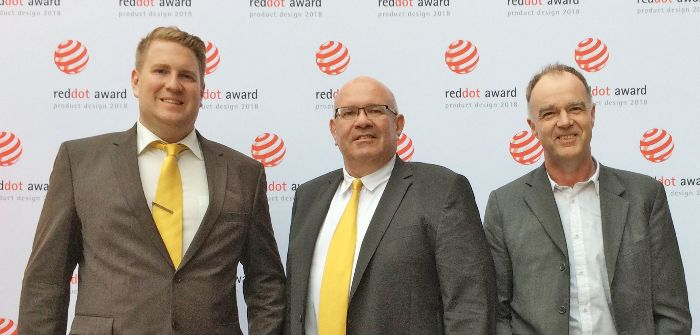 Keestrack wins Red Dot award