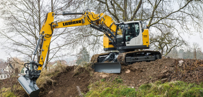 Liebherr starts production on crawler excavator