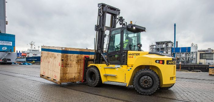 Hyster updates heavy-duty lift truck range