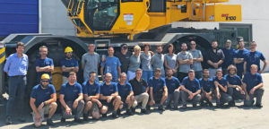 Manitowoc crane built abroad for first time