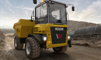 Wacker Neuson dual-view truck at Hillhead