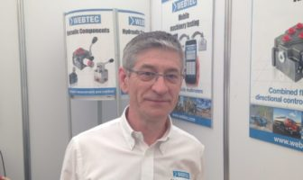 Webtec's mechanical engineering manager Andy Peacock