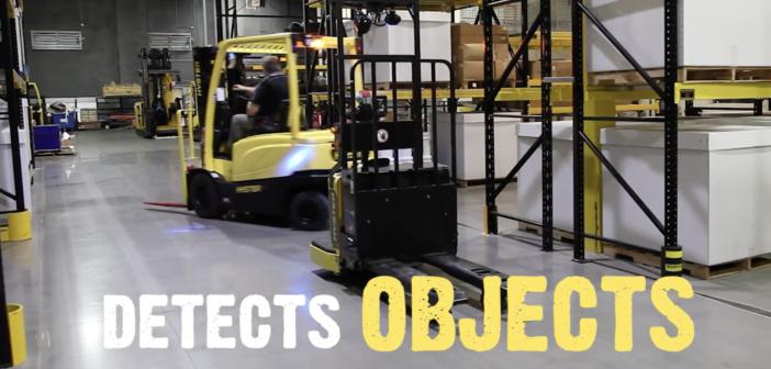 Hyster's Robotic Lift Trucks in action