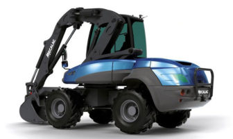 Dana supports Mecalac in developing e12