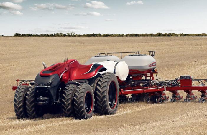 Case IH explores autonomous agricultural technology