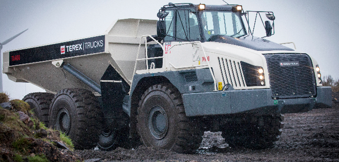 Terex Trucks targets French articulated hauler market