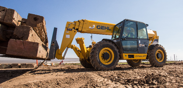 Gehl launches telescopic handlers for North America