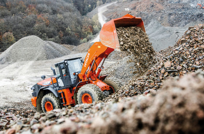 Hitachi develops tough wheel loader