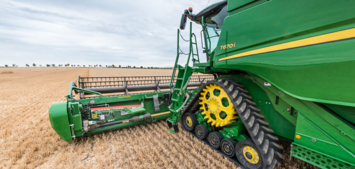 John Deere improves combine features