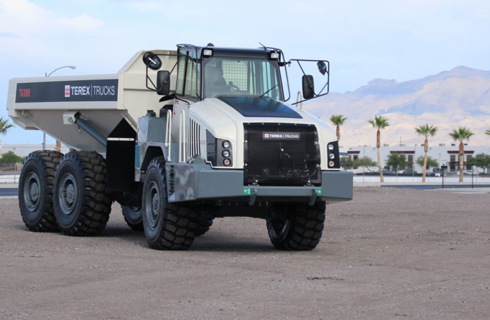 Terex Trucks upgrades TA300 transmission