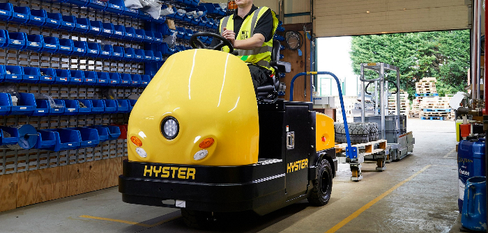 Hyster adds to rider tow tractor range