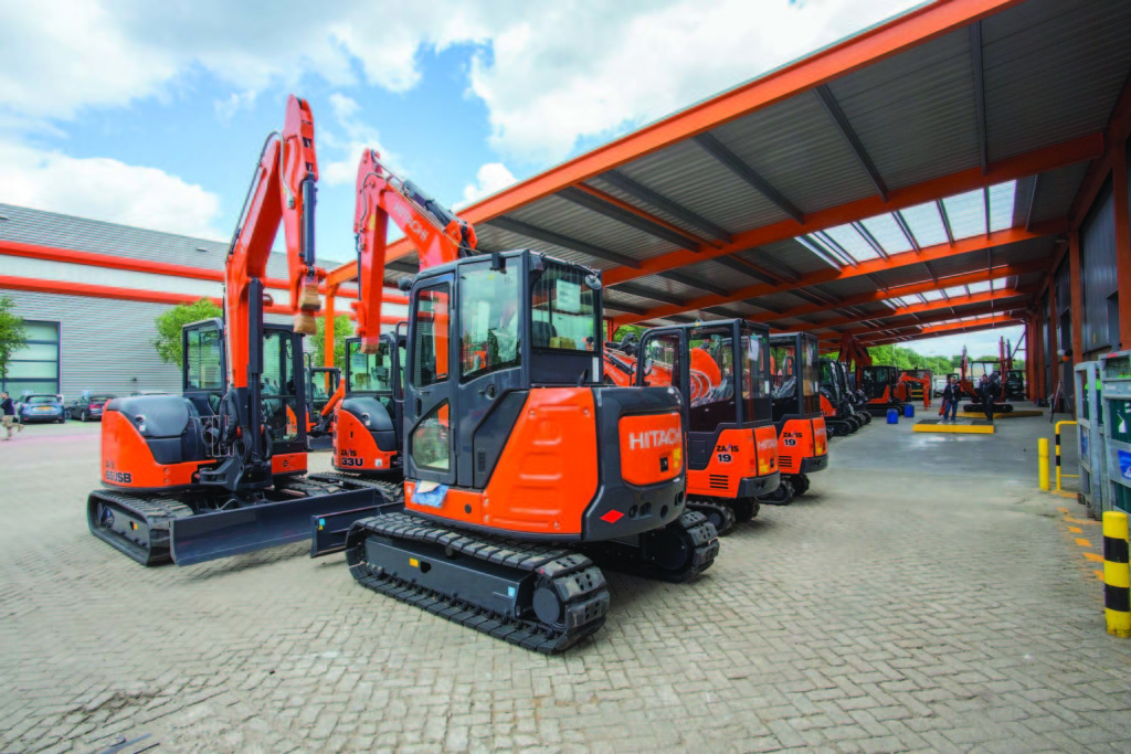 Hitachi increases excavator efficiency