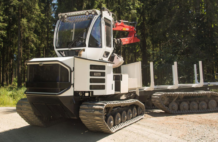 Rolls-Royce to power Hellgeth timber harvester