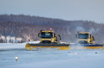 Autonomous snowplow project steps up a gear