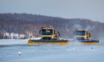Autonomous snowplow project steps up a gear