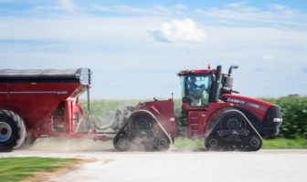 Camso track speeds up tractors