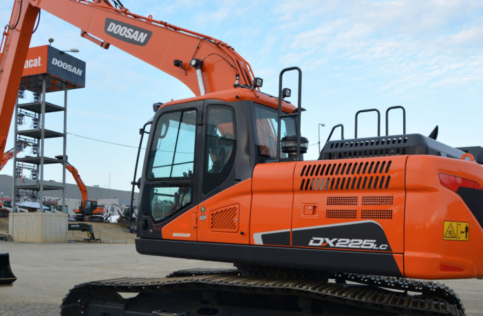 Doosan extends its crawler excavator reach