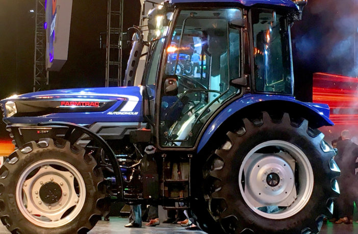 Indian automated tractor concept aided by Microsoft