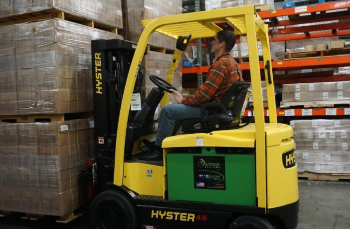 Navitas and Delta-Q to provide spark for electric forklifts