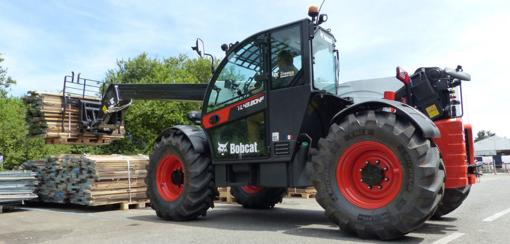 Bobcat unveils high performance telehandler