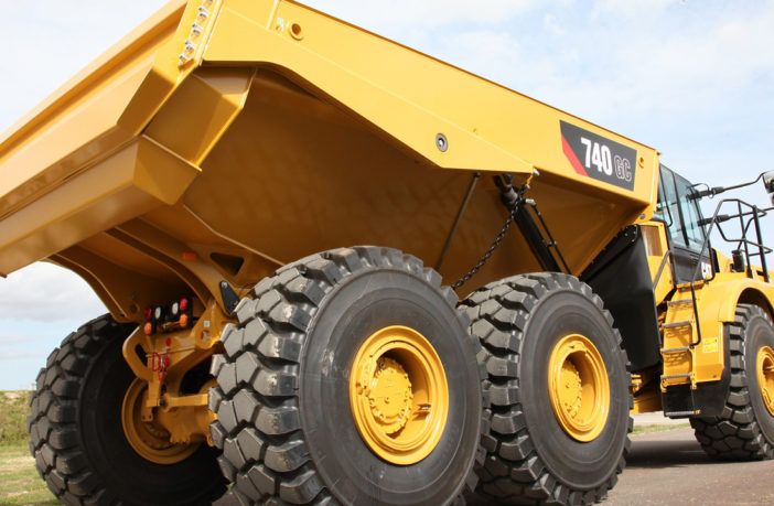 Caterpillar reintroduces 40-ton ADT