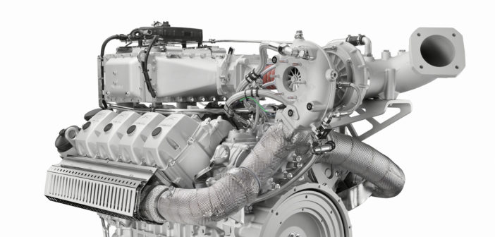 Man Engines to unveil new V8 natural gas engine