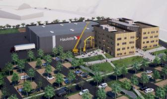 "Haulotte building ""futuristic"" headquarters"