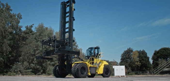 First glimpse of Hyster's zero-emission truck prototype