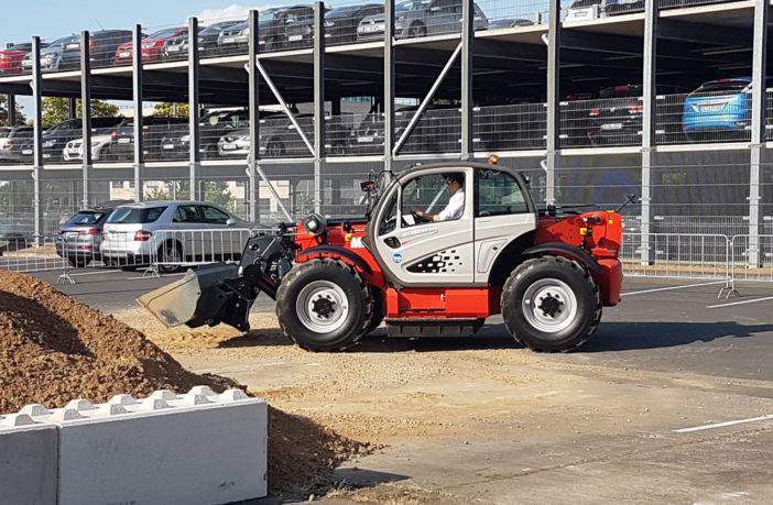 Manitou introduces electric telehandler in collaboration with Deutz