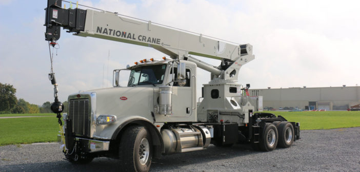 National Crane develops tractor-mounted boom truck