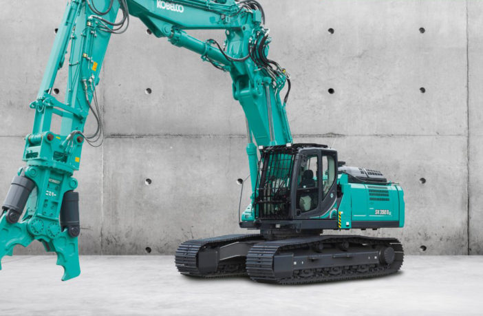 Kobelco completes demolition line-up
