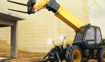JLG and Continental develop telehandler tire