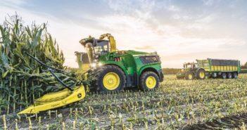 John Deere increases forage harvester performance by 10%