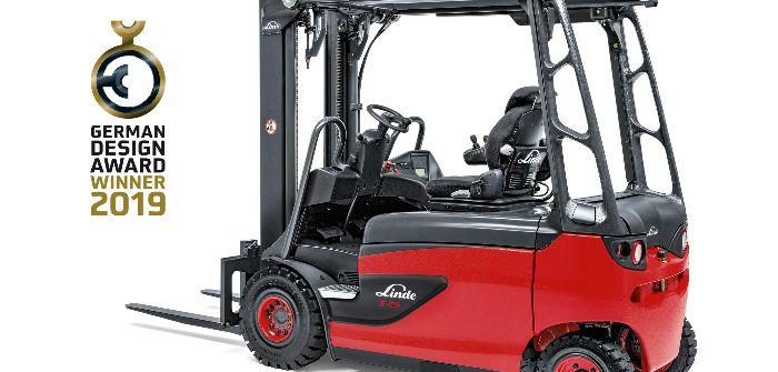 Linde truck wins design award