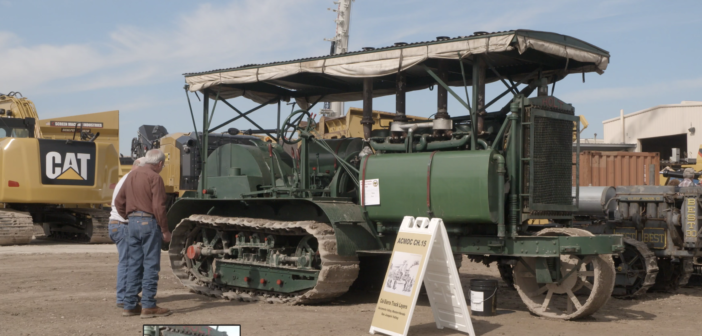 How does a 101-year-old gasoline tractor work?