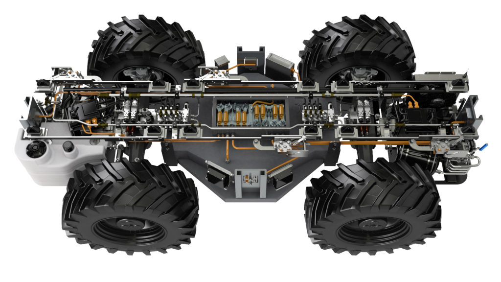 AVL presents e-tractor chassis prototype