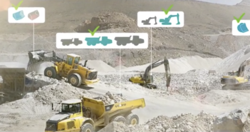 Volvo CE simulations enhancing work site operations