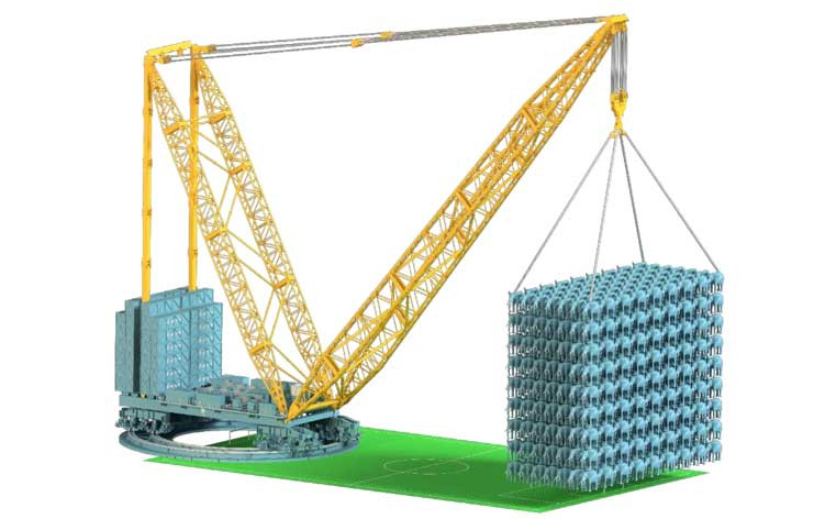 Sarens adds behemoth crane to lineup