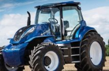 New Holland's methane tractor concept wins design award