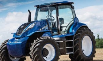 New Holland's methane tractor concept wins design award