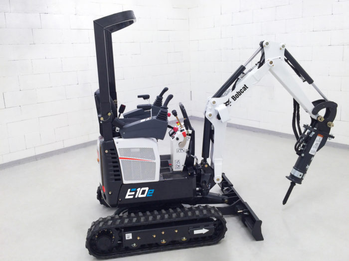 Bobcat releases further details of electric mini-excavator