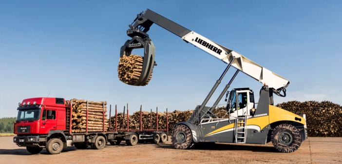 Liebherr's latest log handler to launch at Bauma