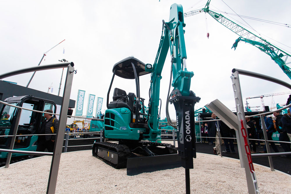 Kobelco's electric mini excavator to launch in 2021 | Industrial
