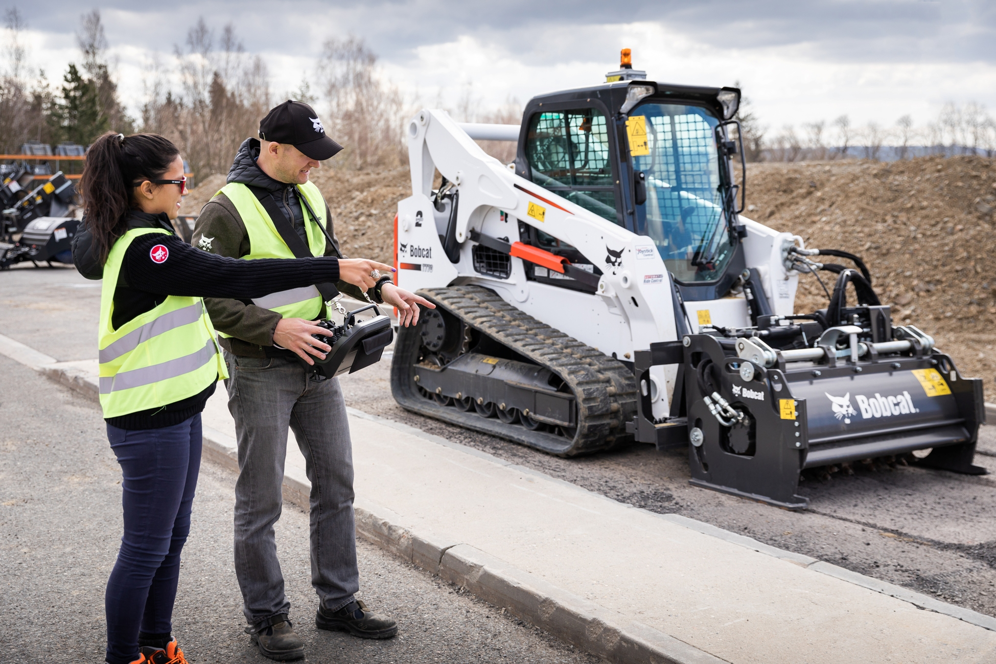 Bobcat launches first OEM-developed remote control system
