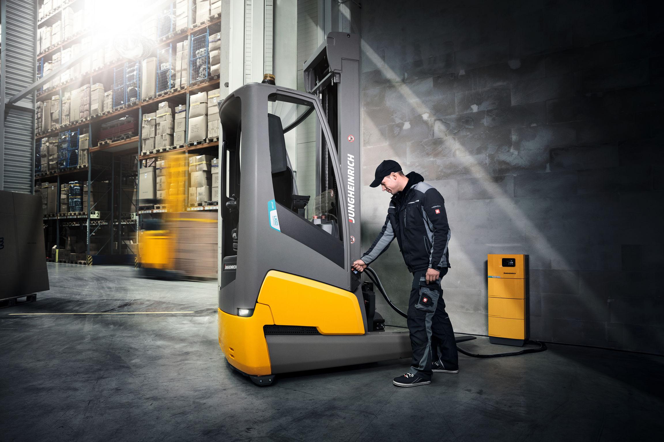 Electric Forklift Jungheinrich Erv308: Jungheinrich's Electric Lift Truck Wins IFOY Award